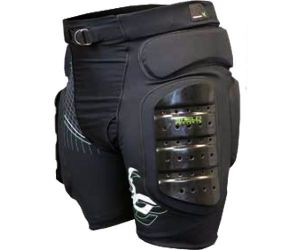 Demon Shield Short hardtail black