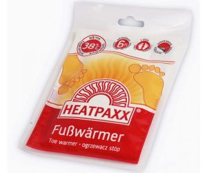Heatpaxx personal footwarmers heating pad