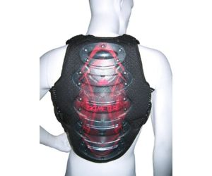 Snowboard backprotector Spineguard 5 shells Medium with removable chestpads