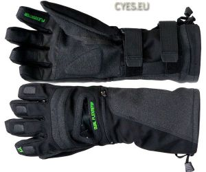 Snowboard gloves double sided flexmeter wristguards demon